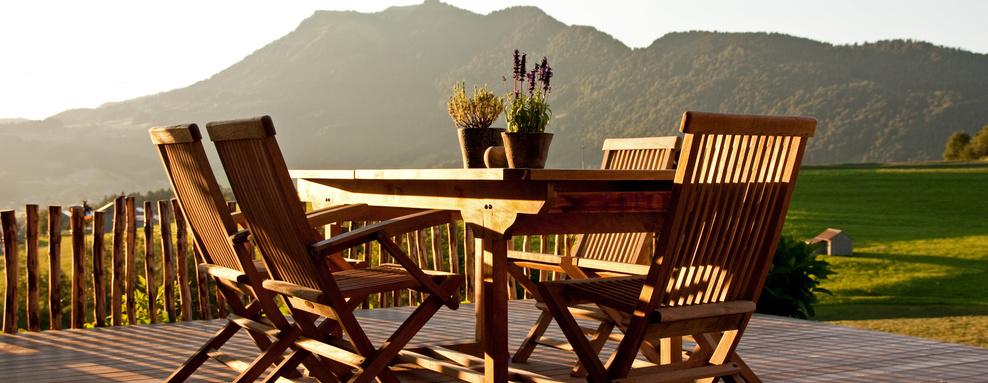 Terraços e Mobiliário de jardim